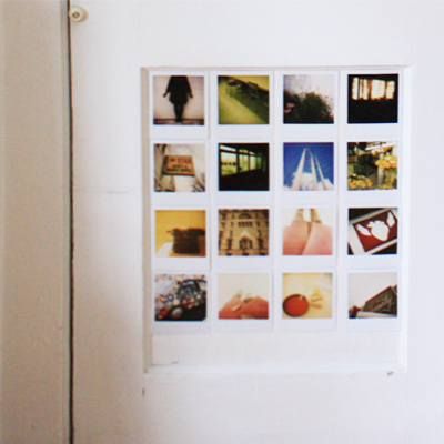 polaroid door in my home office