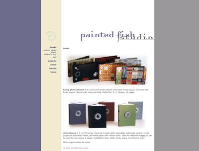 paintedfishstudio.com circa 2004