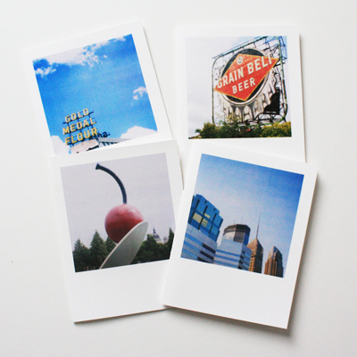 minneapolis polaroid cards