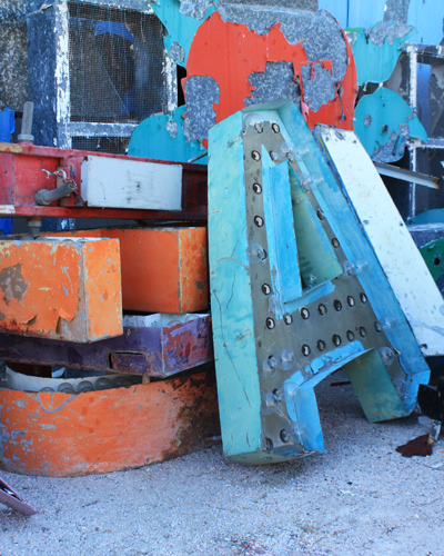 neon museum boneyard, saturday january 28