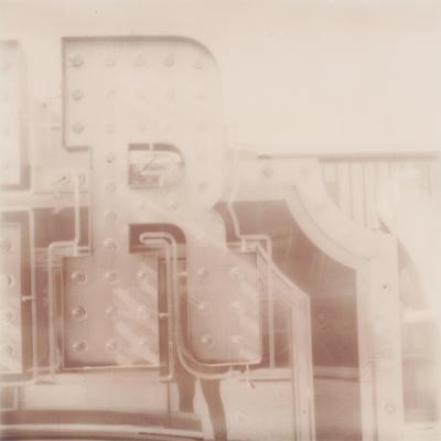 neon museum boneyard. film: px 100 silver shade uv