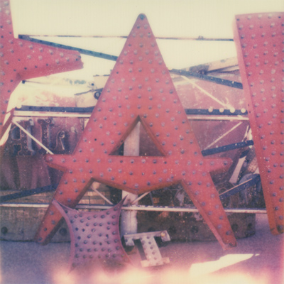 neon museum boneyard. film: px 70 color shade
