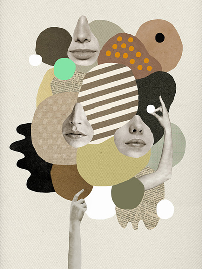 etsy : mathilde aubier : girls rock / poster print