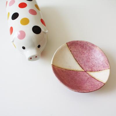 piggy & saucer