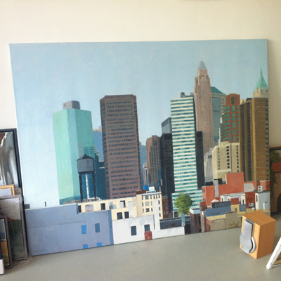 gineke zikken's new york painting