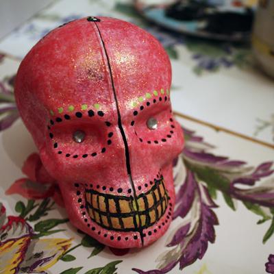 tracy's skull!