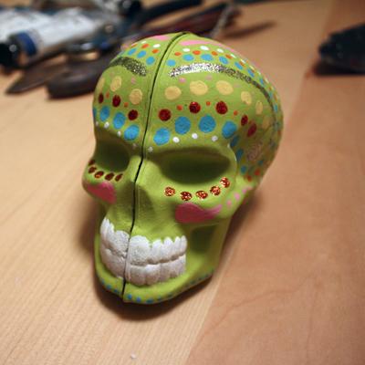 my skull!