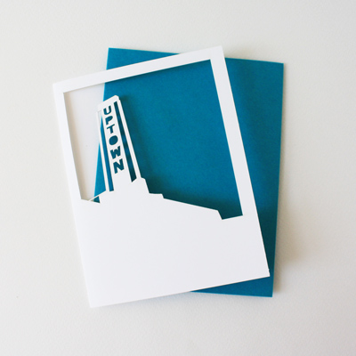 polaroid card : uptown