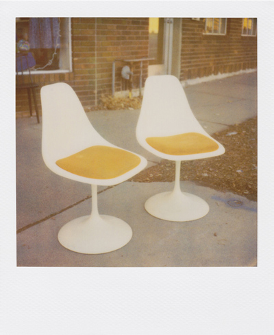 tulip chairs, succotash, saint paul
