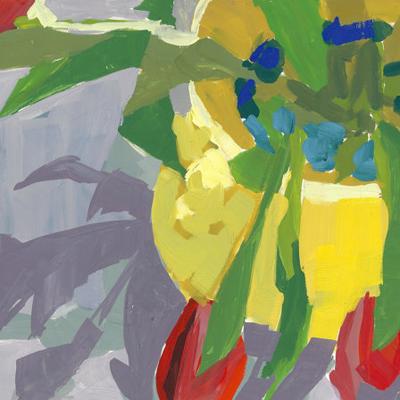 etsy : alla prima painting : tulips