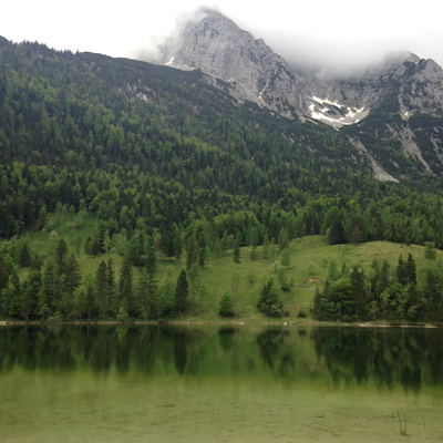 the ferchensee. i love this green lake. it's amazing.