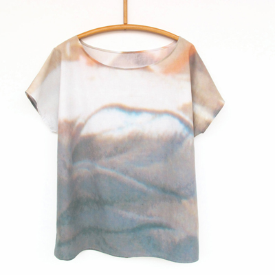 etsy : st. andrewso : shirt LANDSCAPE digital print
